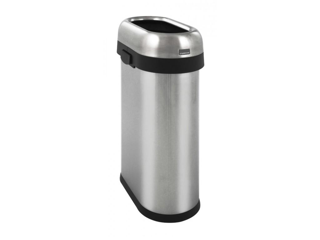 Simplehuman Slim Open Bin 50 liter