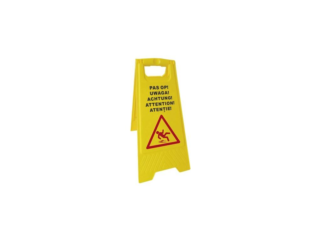 Waarschuwingsbord ''Wet floor''