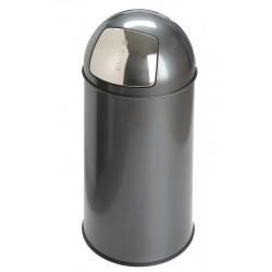 EKO Pushcan 40 liter grijs