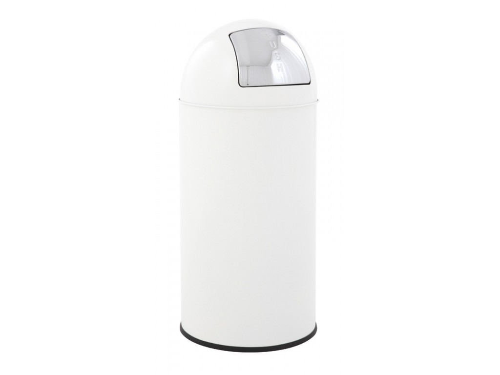 EKO Pushcan 40 liter wit