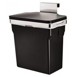 Simplehuman Afvalbak In-Cabinet Bin Zwart Chroom | 10 liter