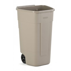 Rubbermaid mobiele container beige 100 liter