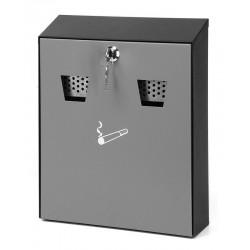 Wandasbak h32 zwart grijs