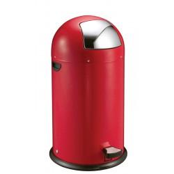 Eko Pedaalemmer Kickcan 40 liter rood