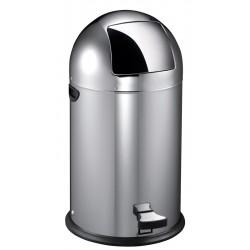 Eko Pedaalemmer Kickcan 40 liter mat RVS