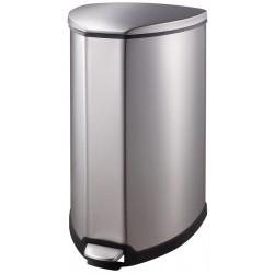 Eko Pedaalemmer Grace 35 liter mat RVS