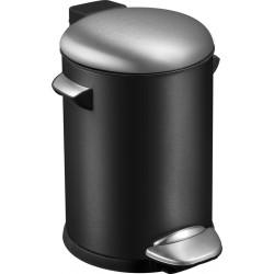 Emo Pedaalemmer Belle Deluxe 3 liter zwart, mat RVS