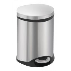 Eko pedaalemmer Shell Bin 6 liter mat RVS