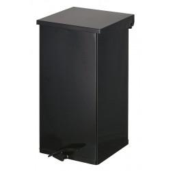 Carro pedaalemmer Kick 110 liter zwart