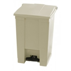 Rubbermaid container met pedaal Step-On 45.4 liter beige