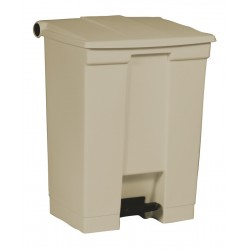 Rubbermaid container met pedaal Step-On 68.1 liter beige