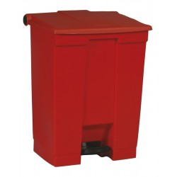 Rubbermaid container met pedaal Step-On 68.1 liter rood