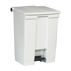 Rubbermaid container met pedaal Step-On 68.1 liter wit