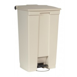 Rubbermaid container met pedaal Step-On 87 liter beige
