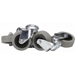 Wiel grijs, zwart voor VB 330100