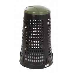 Ruff afvalzakhouder 110 liter zwart, groen