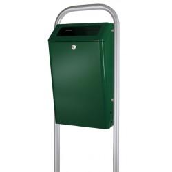 Buitenafvalbak 50 liter groen