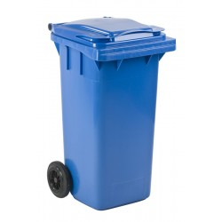 Mini-container 120 liter blauw