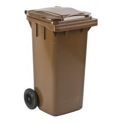 Mini-container 120 liter bruin