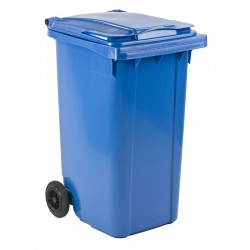 Mini-container 240 liter blauw