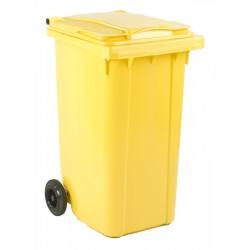 Mini-container 240 liter geel