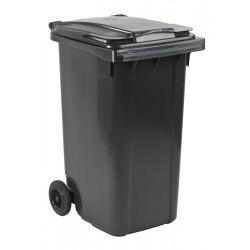 Mini-container 240 liter grijs