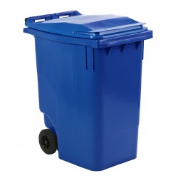 Mini-container 360 liter blauw