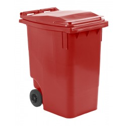 Mini-container 360 liter rood