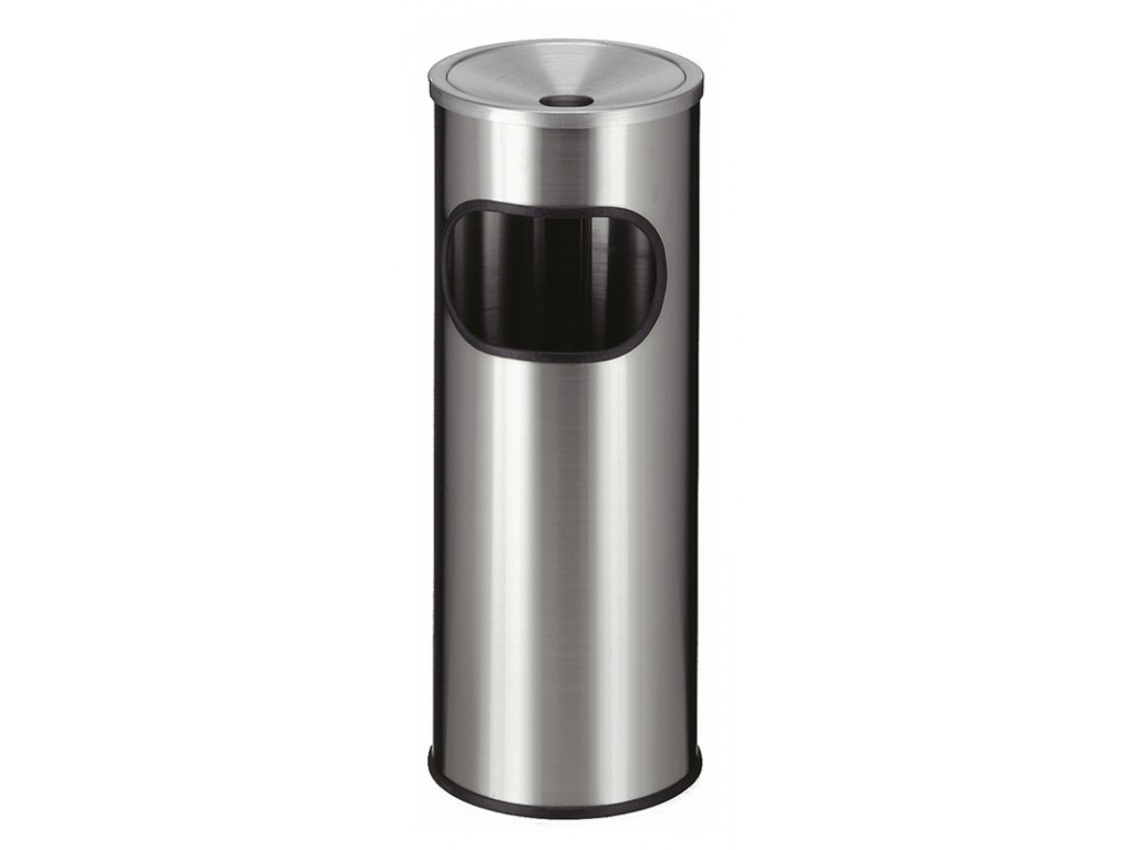 As-papierbak 9 liter RVS