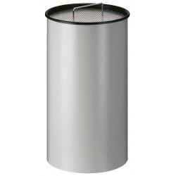 Zandasbak 50 liter aluminiumgrijs