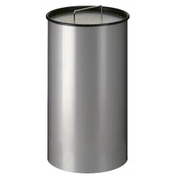 Zandasbak 50 liter grijs