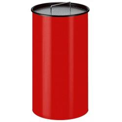 Zandasbak 50 liter rood