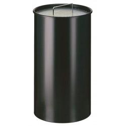 Zandasbak 50 liter zwart